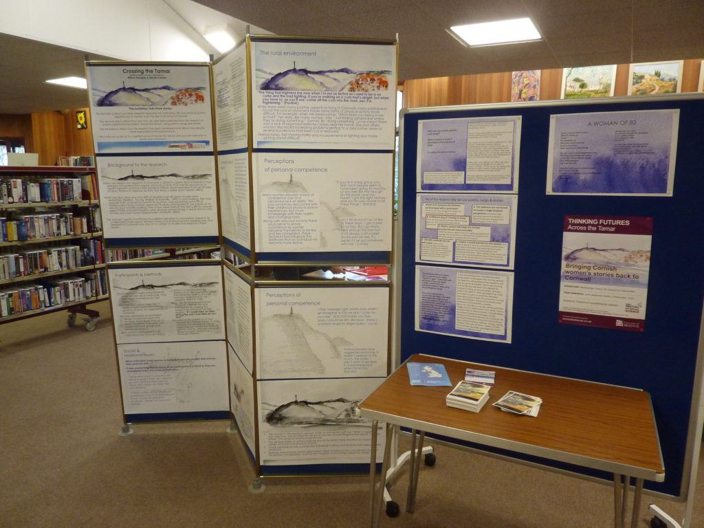 """Exhibition of """"Across The Tamar"""" at Wadebridge Library"""